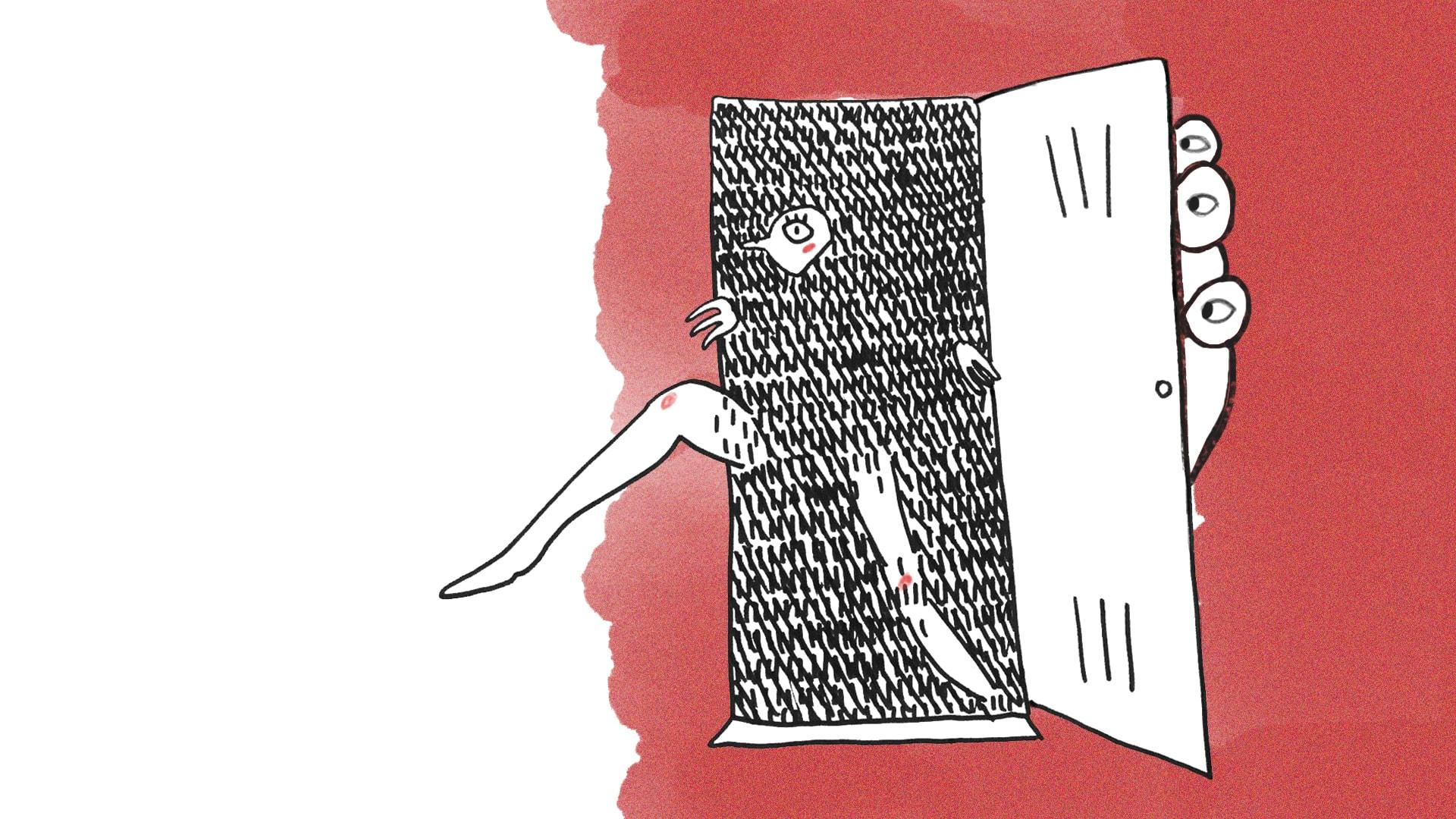 Ilustracja Natalii Przybysz do wierszy Zuzanny Bartoszek.