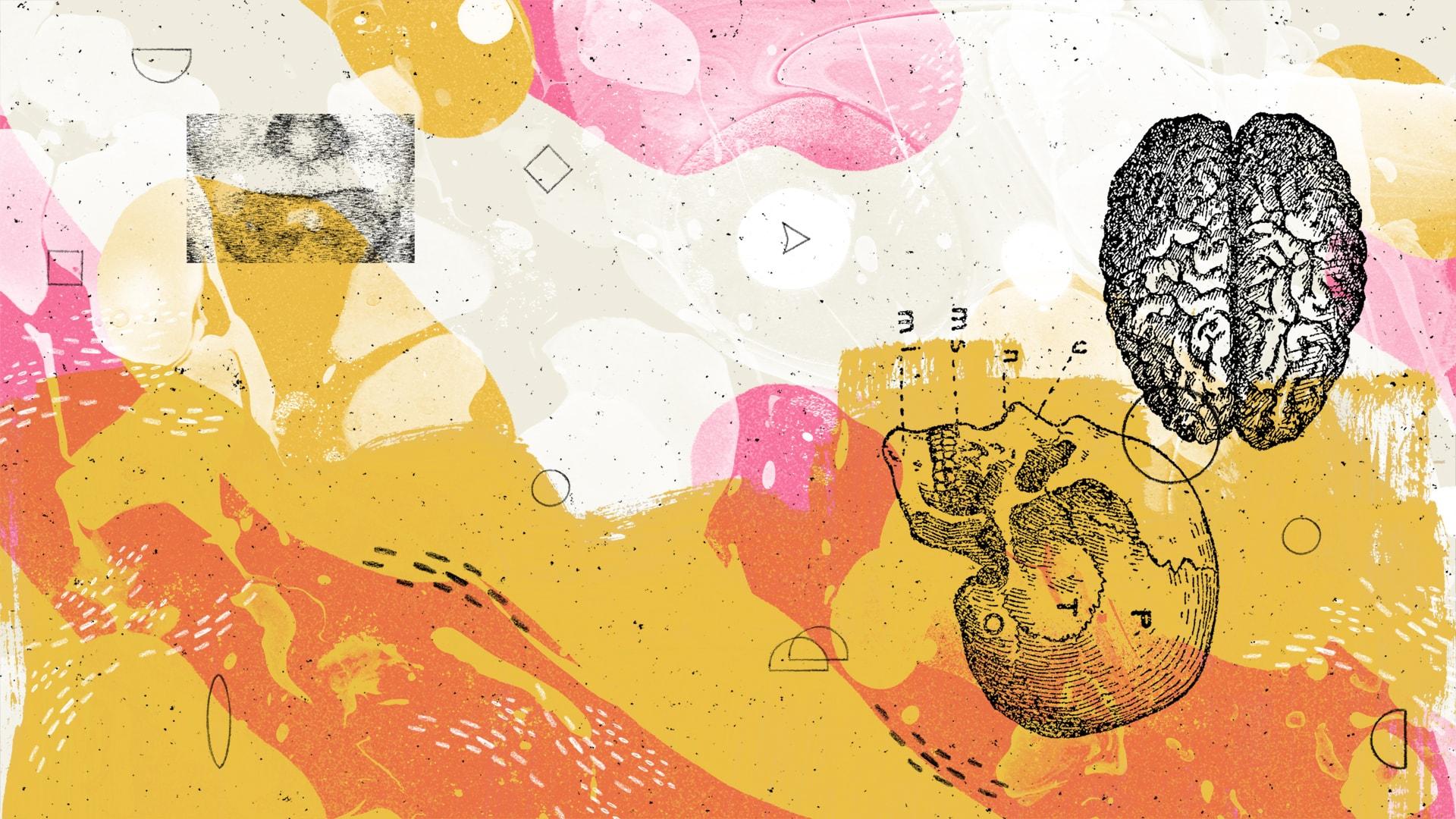 Ilustracja Ady Jarzębowskiej do tekstu Andrzeja Szpindlera o Marku Słyku I Mały Format