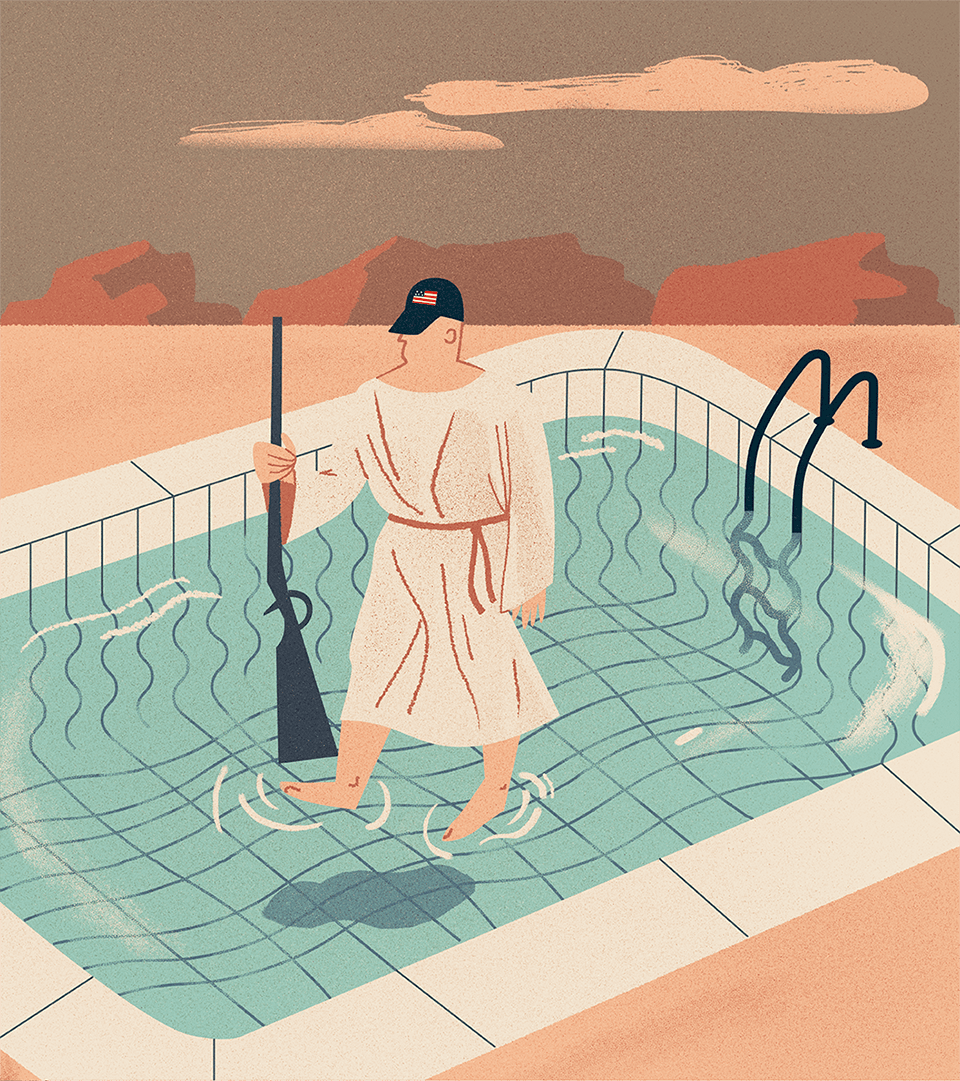 Ilustracja Jaogdy Jankowskiej do tekstu Michała Wieczorka