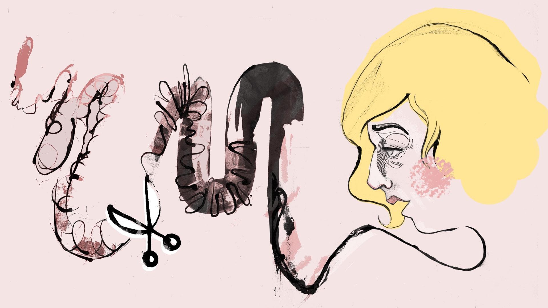 ilustracja Aleksandry Ćwikowskiej (Nibme) do wierszy Katarzyny Szaulińskiej I Mały Format